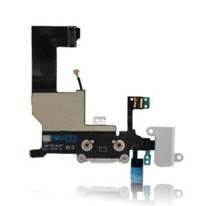 iPhone 5C Charging Port Silver Flex