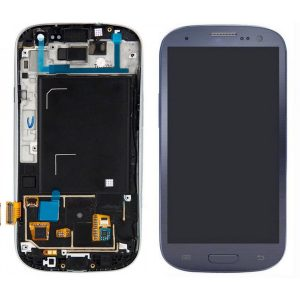 Galaxy S3 (i9300) LCD and Digitizer Touch Screen Assembly – Blue