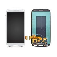 Galaxy S3 (i9300) LCD and Digitizer Touch Screen Assembly – White