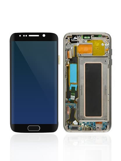 Galaxy S7 Edge LCD – Black - Mobile Mart