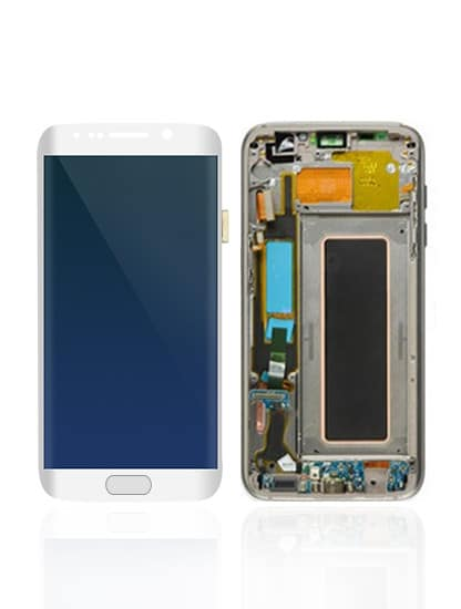 Galaxy S7 Edge LCD – Silver - Mobile Mart