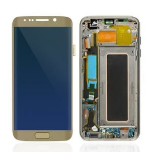 Galaxy S7 Edge LCD - Gold - Mobile Mart