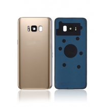 Galaxy S8 (G950) Rear Glass With Camera Lens -Gold
