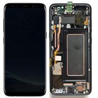 Galaxy S8 Plus (G955F) LCD and Digitizer Touch Screen Assembly (Service Pack) – Black