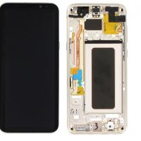 Galaxy S8 Plus (G955F) LCD and Digitizer Touch Screen Assembly (Service Pack) – Gold