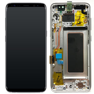 Samsung Galaxy S8 Plus G955 Service Pack LCD Display Arctic Silver