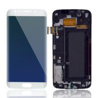 Galaxy S6 Edge (G925I) LCD and Digitizer Touch Screen Assembly – White