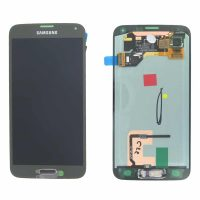 Galaxy S5 (G900I) LCD and Digitizer Touch Screen Assembly – Gold