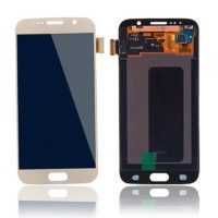 Galaxy S6 (G920I) LCD and Digitizer Touch Screen Assembly – Gold