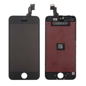 iPhone 5C LCD and Digitizer Touch Screen Assembly (AAA Quality) – Black