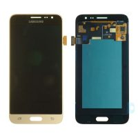 Galaxy J3 2016 (J320) LCD and Digitizer Touch Screen Assembly – Gold