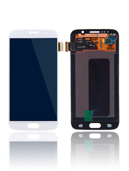 Galaxy S6 (G920I) LCD and Digitizer Touch Screen Assembly – White