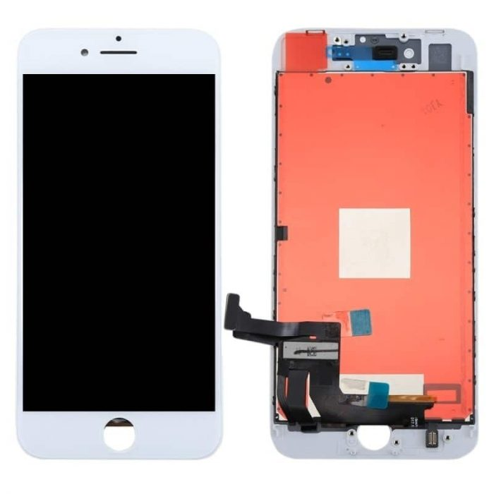 iPhone 8  Plus 5.5″ LCD and Digitizer Touch Screen Assembly (AAA Quality) – White
