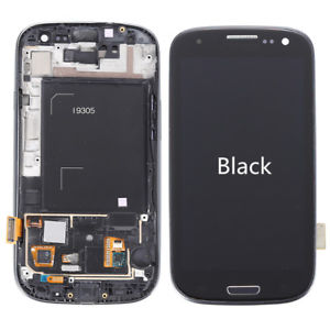 Galaxy S3 (i9305) LCD and Digitizer Touch Screen Assembly – Black