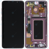 Galaxy S9 Plus (G965F) LCD and Digitiser Touch Screen Assembly (Service Pack) – Purple