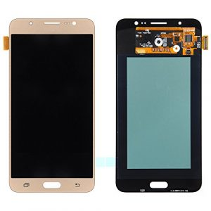 Galaxy J7 2016 (J710)  LCD and Digitizer Touch Screen Assembly – Gold