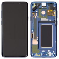Galaxy S9 Plus (G965F) LCD and Digitiser Touch Screen Assembly (Service Pack) – Coral Blue