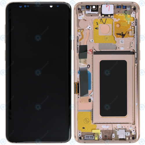 s9 plus lcd gold