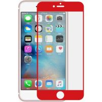 Tempered Glass Screen Protector for iphone – 7 (Red)