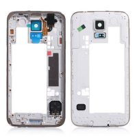 Galaxy S5 (G900I) Mid-Frame Housing – Silver