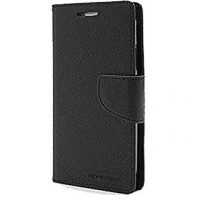 Fancy Diary case for Galaxy S6 Edge – Black
