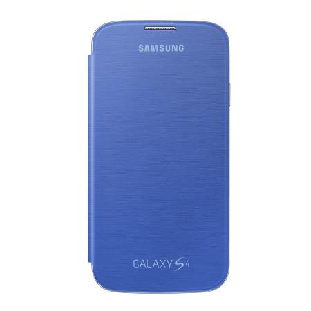 half off 90f73 fd409 Samsung Galaxy S4 Flip Cover - Blue