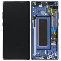 Galaxy Note 8 (N950F) LCD and Digitizer Touch Screen Assembly (Service Pack) – Blue