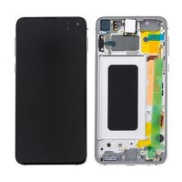 Galaxy S10e (G970) LCD and Digitiser Touch Screen Assembly (Service Pack) – Prism White