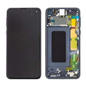 Galaxy S10e (G970) LCD and Digitiser Touch Screen Assembly (Service Pack) – Prism Black