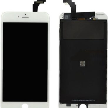 iPhone 6 Plus 5.5″ LCD and Digitizer Touch Screen Assembly (Refurbished) – White
