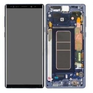 Samsung Galaxy Note 9 N960 Service Pack LCD Display Ocean Blue