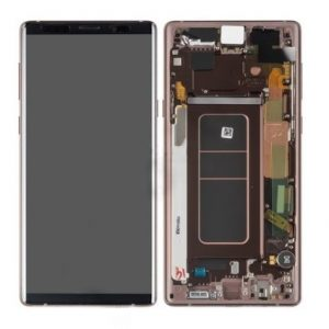 Galaxy Note 9 (N960) LCD and Digitiser Touch Screen Assembly (Service Pack) – Copper/Brown