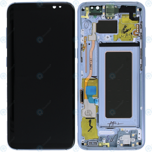 Galaxy S8 (G950F) LCD and Digitizer Touch Screen Assembly (Service Pack)  – Blue