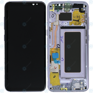 Samsung Galaxy S8 Plus G955 Service Pack LCD Display Orchid Gray