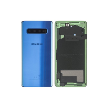 Samsung Galaxy S10 G973 Rear Glass With Camera Lens Prism Blue