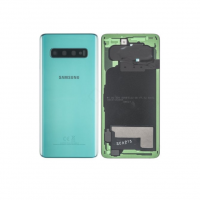 Galaxy S10 (G973) Rear Glass With Camera Lens  – Prism Green