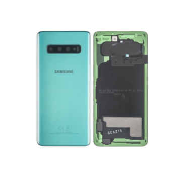 Samsung Galaxy S10 G973 Rear Glass With Camera Lens Prism Green