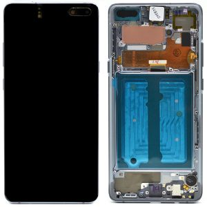 Galaxy S10 5G (G977)  LCD and Digitiser Touch Screen Assembly (Service Pack) – Majestic Black