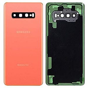 Samsung Galaxy S10 G973 Rear Glass With Camera Lens Flaming Pink