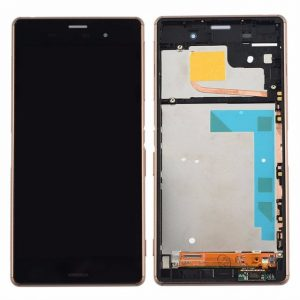 Xperia Z3 LCD and Digitizer Touch Screen Assembly (W/F) – Brown