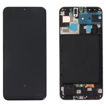 Galaxy A50 (A505) LCD and Digitiser Touch Screen Assembly (Service Pack)