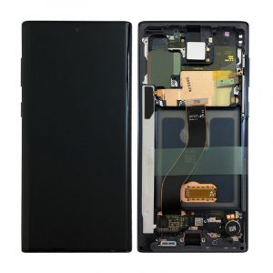 Galaxy Note 10 (N970) LCD and Digitiser Touch Screen Assembly (Service Pack) – Black