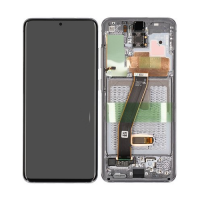 Galaxy S20 G980 / S20 5G G981 LCD and Digitizer Touch Screen Assembly (Service Pack) Black