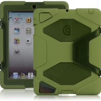 HD All-Terrain 3 Protective Layer Military standard case for Ipad 2 – Green