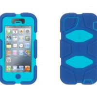 HD Military – Duty Case & Belt Clip for Iphone 4/4S- Clear Blue