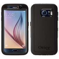 HD Defender Rugged Protection case for Galaxy S6 – Black
