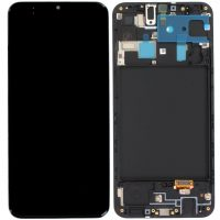 Galaxy A20 (A205) LCD and Digitiser Touch Screen Assembly (Service Pack)