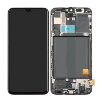 Galaxy A40 (A405F) LCD and Digitiser Touch Screen Assembly (Service Pack) – Black