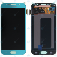 Galaxy S6 (G920I) LCD and Digitizer Touch Screen Assembly (Service Pack) –  Blue