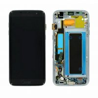 Galaxy S7 Edge (G935F) LCD and Digitizer Touch Screen Assembly (Service Pack) – Black